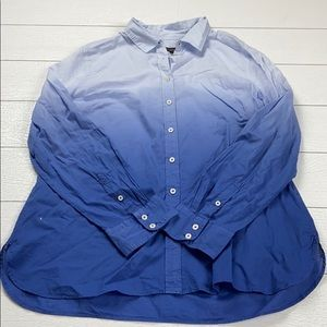 NWT Talbots women's size large button down